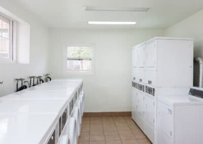 Apartment on site Laundry facility